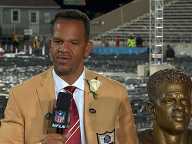 Video - Andre Reed : 'I was just a football player who loved to win'