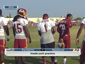 Video - Wide reciever DeSean Jackson leaves Washington Redskins' practice