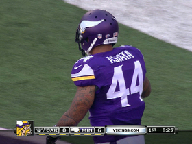 Video - Minnesota Vikings running back Matt Asiata 1-yard TD run