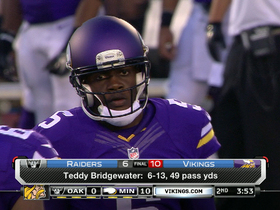 Video - Did Minnesota Vikings QB Teddy Bridgewater look like a legitimate starter?