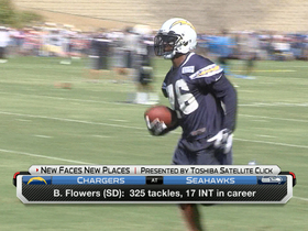 Video - New Faces New Places: San Diego Chargers defensive back Brandon Flowers