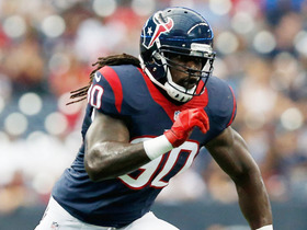 Video - Houston Texans linebacker Jadeveon Clowney makes big stop against Antone Smith