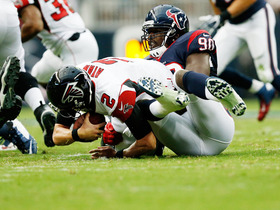 Video - Houston Texans linebacker Jadeveon Clowney sacks Matt Ryan