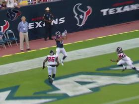 Video - Houston Texans quarterback Ryan Fitzpatrick 8-yard TD pass to wide receiver DeVier Posey