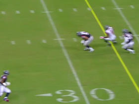 Video - Atlanta Falcons quarterback T.J. Yates intercepted by Houston Texans linebacker Max Bullough