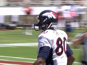 Video - Denver Broncos quarterback Peyton Manning to tight end Julius Thomas for a 17-yard touchdown