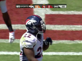 Video - Denver Broncos running back C.J. Anderson up the middle for the 1-yard touchdown