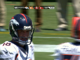 Video - Peyton Manning shows off his wheels