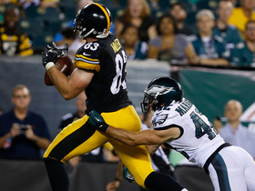 Video - Pittsburgh Steelers tight end Heath Miller 27-yard TD reception