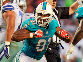 Video - Miami Dolphins defensive end Cameron Wake wrecks havoc vs. Cowboys