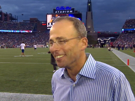Video - New England Patriots president Jonathan Kraft discusses 'NFL NOW'
