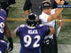 Watch: Ngata and Harbaugh chest bump
