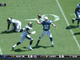 Watch: Luck escapes pressure and finds Hilton