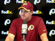 Watch: Redskins postgame press conference