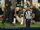 Watch: Pierre Thomas suffers shoulder injury