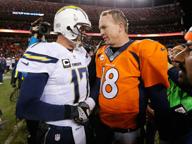 Video - San Diego Chargers quarterback Philip Rivers vs. Denver Broncos quarterback Peyton Manning on Thursday Night Football