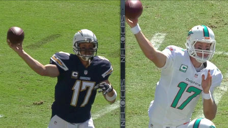 San Diego Chargers Quarterback Philip Rivers Miami