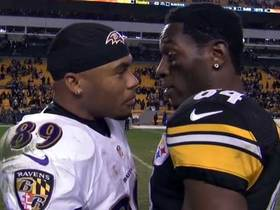 'Sound FX': Steve Smith Sr. tells Antonio Brown 'you're a heck of a player'