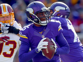 Minnesota Vikings wide receiver Greg Jennings' high praises for Vikings quarterback Teddy Bridgewater