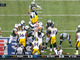 Watch: Mangold bodyslams Mitchell in victory formation