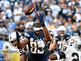 'Sound FX': Antonio Gates mic'd up vs. Raiders in Week 12 of 2014