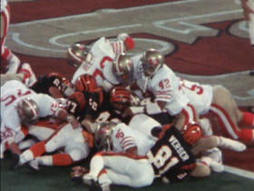 Watch: Super Bowl XVI: 49ers goal-line stand in Super Bowl XVI