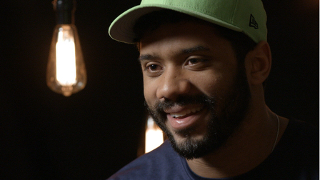 on-one with Seattle Seahawks quarterback Russell Wilson
