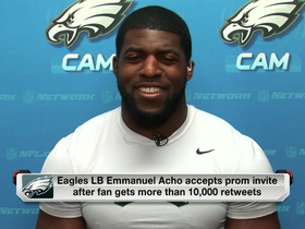 Why is Emmanuel Acho going back to prom?