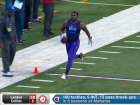 Watch: Landon Collins 2015 Combine Workout