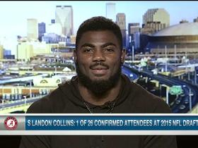 Video - Alabama safety Landon Collins: Would be my dream to play for Washington Redskins