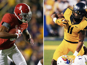 Watch: More receiving yards in 2015: Cooper or White?