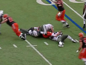 Jets Darrelle Revis recovers Browns Johnny Manziel fumble