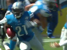 Lions Ameer Abdullah makes a 48-yard run