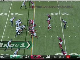 Eagles Ryan Mathews stopped short and Parkey misses 44-yard field goal