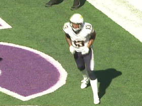 Chargers Allen catches 19-yard TD pass
