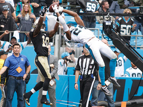 Can't-Miss Play: Norman flies for game-clinching interception