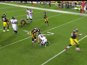 Steelers stop fake field goal