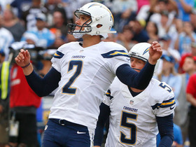 Chargers Josh Lambo kicks 34-yard game-winning FG