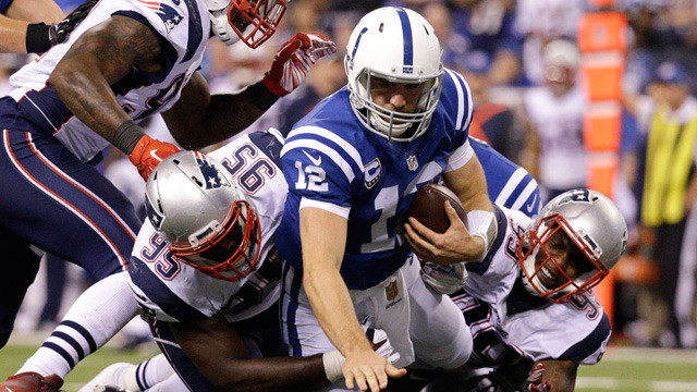 Patriots Crush Colts To Remain Undefeated Nfl Rush