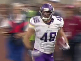 Vikings Teddy Bridgewater finds Zach Line who takes it 49 yards