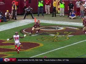 Redskins Kirk Cousins hits Ryan Grant for a 3-yard touchdown