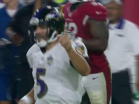 Joe Flacco makes a clutch throw on 4th down