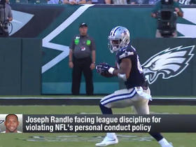 Watch: Rapoport: Randle could be suspended for violating NFL's personal conduct policy