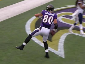 Ravens Joe Flacco finds Crockett Gillmore for a 3-yard touchdown