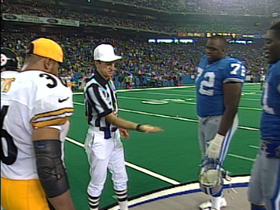 Watch: 28. Phil Luckett's botched coin toss