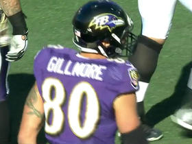 Ravens Joe Flacco hits Crockett Gillmore for 10-yard touchdown