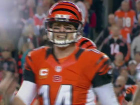 Andy Dalton's fist-pump gone wrong