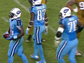 Titans Antonio Andrew breaks away for 26-yard gain
