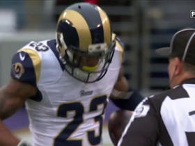 Rams Rodney McLeod intercepts Flacco
