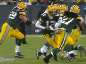 Packers get stuffed on 4th down